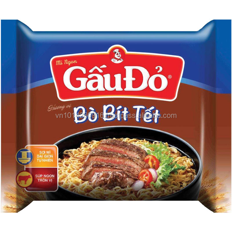 Gau Do Beef Steak Flavor Instant noodle