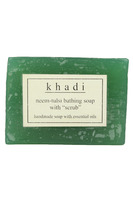 "Herbal Neem-Tulsi Bathing Soap With ""Scrub"" 125 Gms Pure Natural"