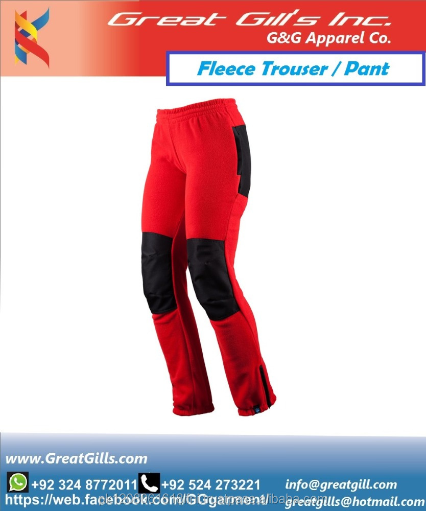 custom made fashion fleece trouser/ gym sweatpants/ jogging pant from Pakistan