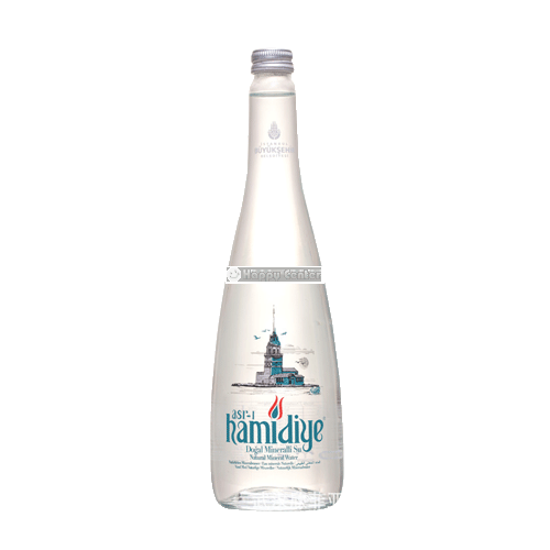 Water hamidiye glass bottle 750 ml