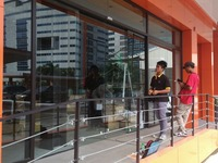 seme automatic sliding door system