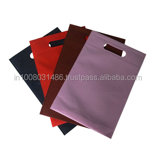 Non Woven D-cut Carry Bag
