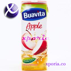 BUAVITA Boxed Juice APPLE SLIM 250ml | Indonesia Origin