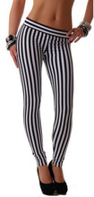 Strips Office Wear Silk Imported Leggings 2017 / Ladies Casual Wear Attractive Leggings 2017 / Girls Party Wear 2017