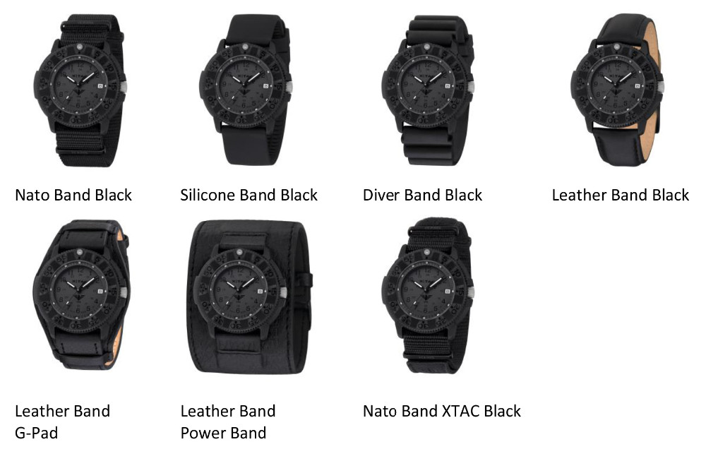 Military tactical Navigator XTAC Watch