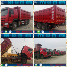 China made Howo used dump truck, ISUZU, VOLVO, HOWO,SCANIA , 6x4 Sinotruck HOWO Used Dump Truck For Sale(wechat ID: himoni)