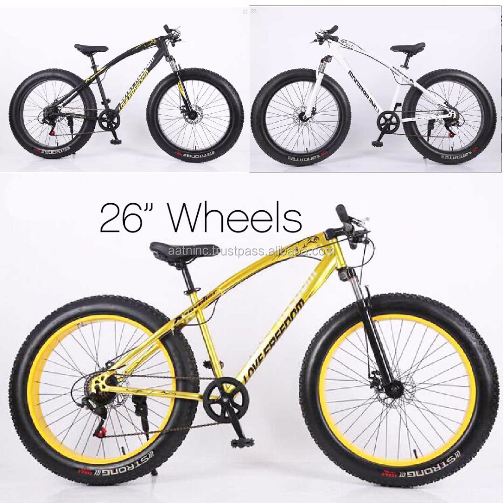 "Super cool 26"" wheel fat tire mountain bike"
