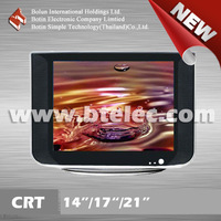 Promotion normal flat 14inch color tv prices CRT skd for tv