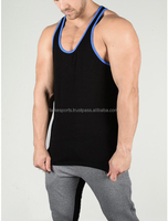 Get your Custom made black blank top Cheap Price body building gym singlets tank tops undershirts for men vest wear