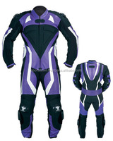 Motorcycle riding leather suit for men's