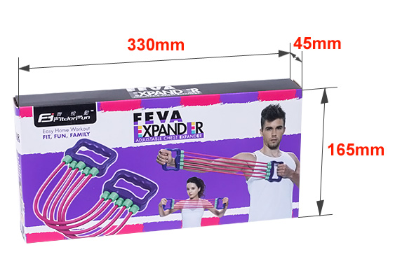 2015 Hot Sale Home Exercise Equipment Multi-functional Adjustable Chest Expander Exercise Tube