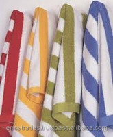Jacquard Beach Towels, 100% Cotton Terry Bath, Hand and Wash Towels