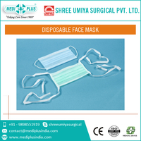 Double Layer Non-Woven Disposable Face Mask for Surgical Supplies