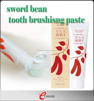 Hot-selling and Reliable tooth paste tube with Sword bean extract power made in Japan