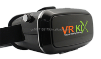 VRKiX Universal Virtual Reality Headset for Smart Phone Google cardboard Compatible