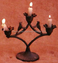 Antique Brass Candle Holders-101