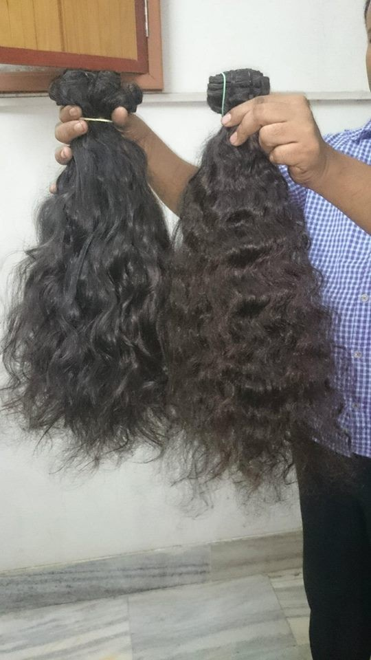 Raw Indian Processed Wavy Curly Human Hair Extension Wholesale