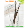 Japanese very popular adult toothbrush Japanese Bamboo toothbrush made of natural ingredients (natural brush: pig hair)