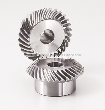 Spiral Miter Gear Module 2.0 Carbon steel Ratio 1 Made in Japan KG STOCK GEARS