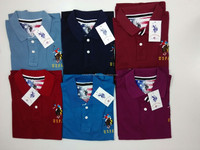 100% Cotton Knitted Polo T Shirts