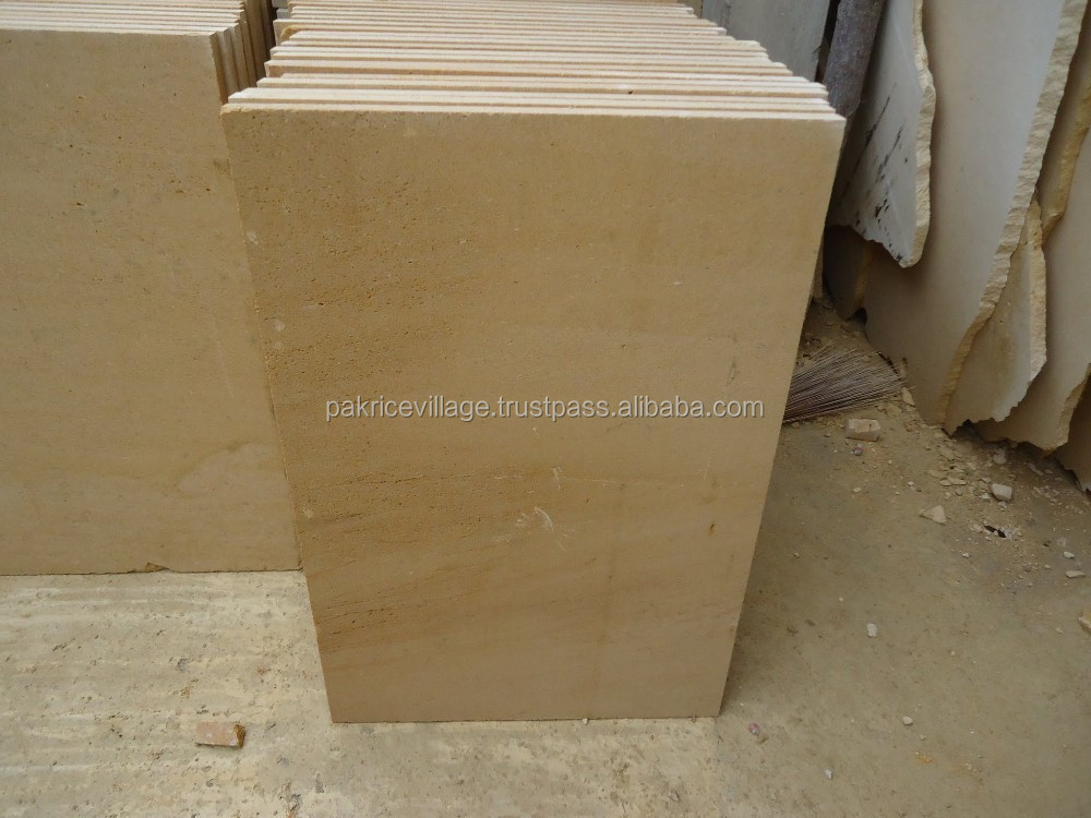 Sandstone Exterior Wall Cladding Tiles and Slabs - USA