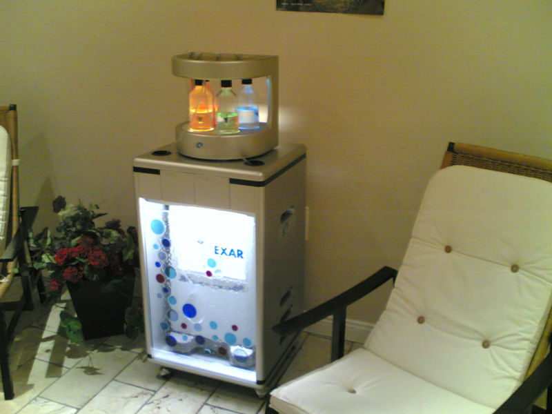 portable digital Italy made flavored oxygen bar air purifiers