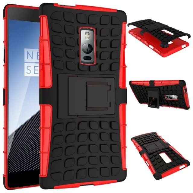 For Oneplus 2 Case Dual Layer Armor Silicon and Hard Non-slip Plastic Skin Back Cover For OnePlus Two Case Oneplus2 Covers