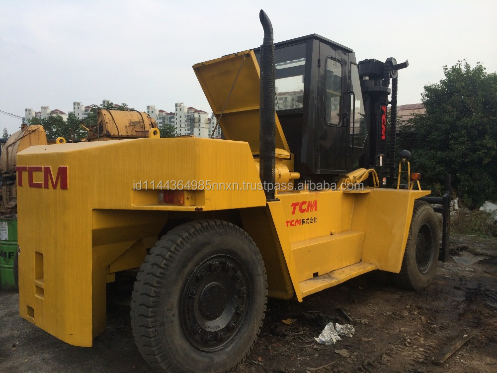 used TCM forklift FD200 Japanese forkman 20 tons truck hot sale good performance in Shanghai