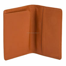 Latest Fashion Slim PU Leather RFID Passport Holder Case