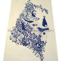organic cotton certified cotton made kitchen towel