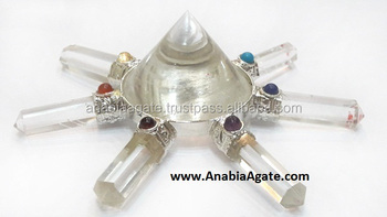 Crystal Quartz Energy Generator : Gemstone Healing products : wholesale agate healing products