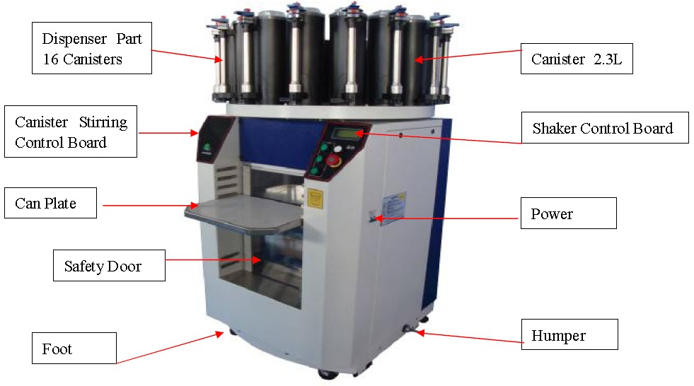 paint tinting machine for sale
