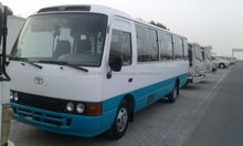 Used LHD Toyota coaster bus 30 2006