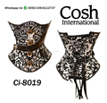 Brown Brocade Corset Supplier