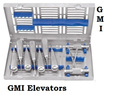 Dental Root Elevators Tip Canal Dentists Tools German Standard