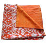 All New Winters Quilt Collection - Cotton Ikat Print Kantha quilt