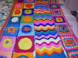 2016 New style super soft handmade knitted blanket wholesale