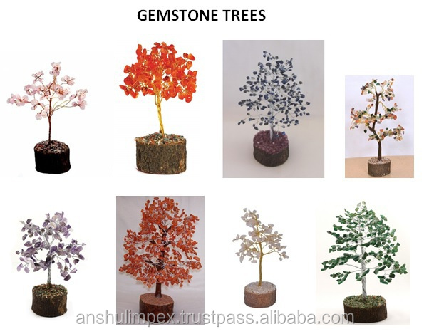 Carnelian Gemstone/Crystal Tree for Feng Shui, Home Decoration, Display, Gifts, Corporate Gifts