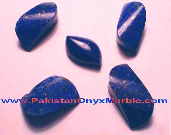 CUT STONES LAPIS LAZULI FROM AFGHANISTAN