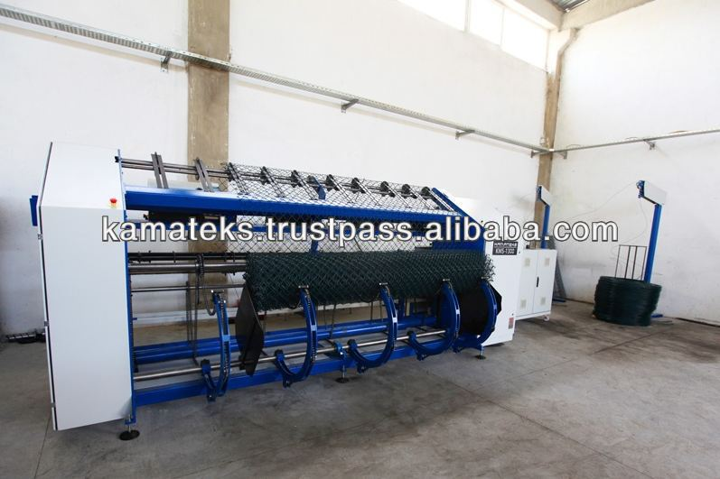 KMS-1400 high speed FULL AUTOMATIC WIRE FENCING WEAVING MACHINE