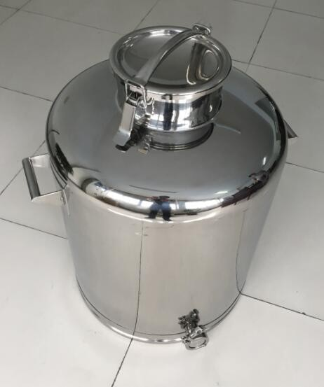 SS304 50L/100L Storage Tank Polish Inside And Outside