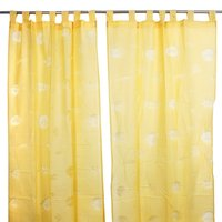 100% Pure Indian Cotton Door Curtain Drapery for Living Room Bedroom