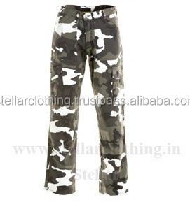 Womens Cargo Twill Pants