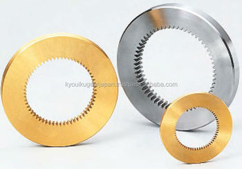 Internal gear Module 0.5 Brass Made in Japan KG STOCK GEARS