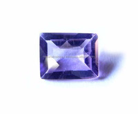 Natural Amethyst 5x7mm Rectangle Emerald Cut Loose Gemstone
