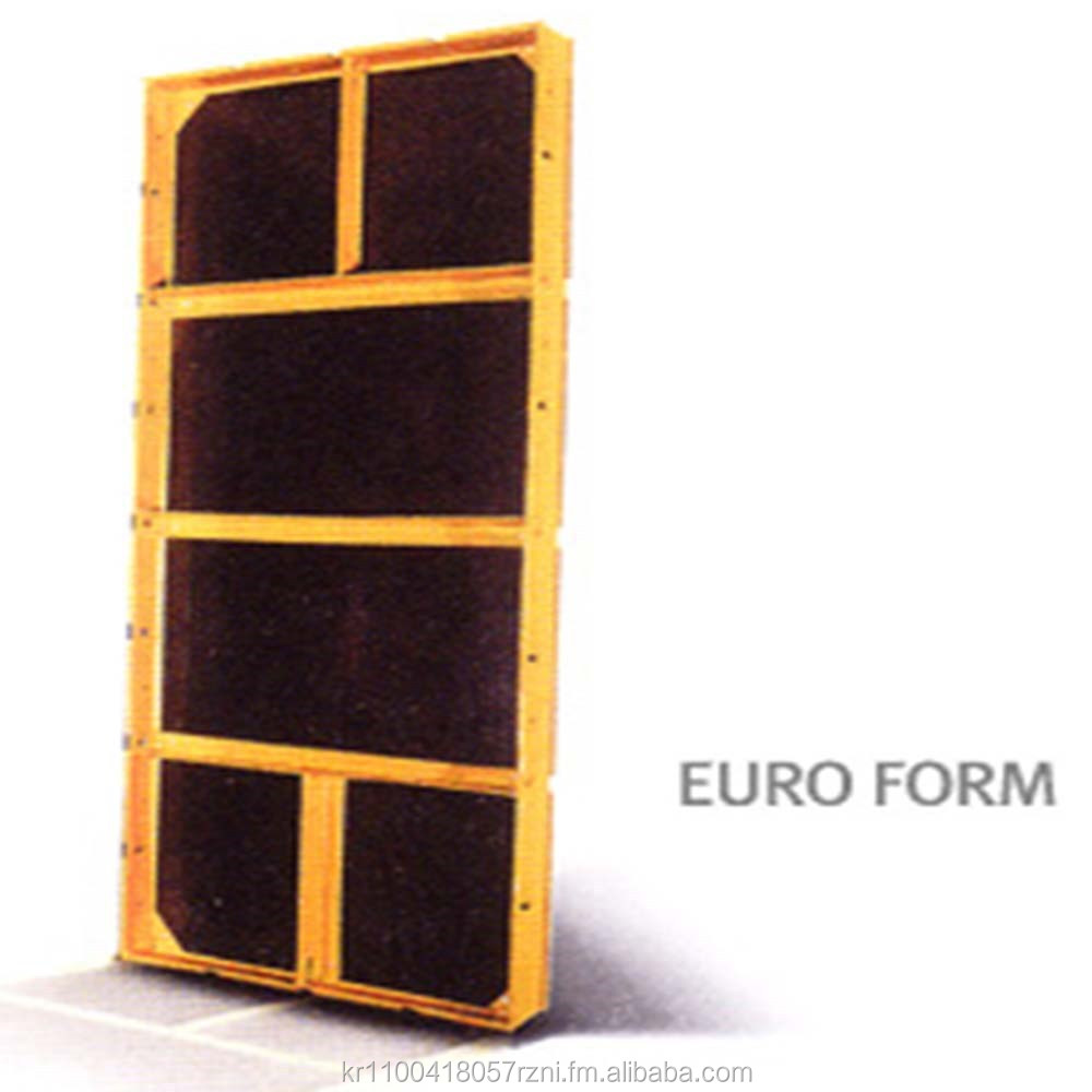 Concrete Formwork EURO FORM made in Korea
