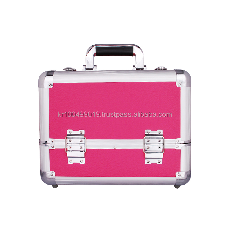 Hot Pink Beauty Case with Blink Lash Stylist & Care / aluminium beauty kit case / eyelash extension beauty case