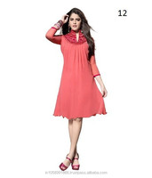 Collar Neck Designs Of Kurtis
