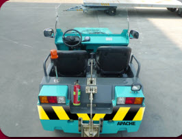 Baggage Handling Avaiation Tow Tug Tractor