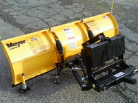 Heavy Duty Snow Plows For Mini Trucks and ATVs